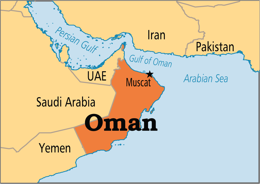 نقشه عمان oman trade