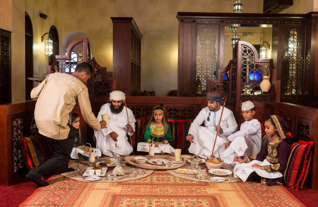 رستورانهای مسقط - عمان ترید